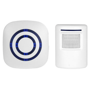 Wireless Doorbell Electric Driveway Doorbell Motion Sensor Alert Secure System Home Alarm System