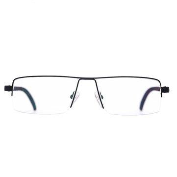 شويدي مكافحة التعب شبه بدون إطار القراءة نظارات الراتنج سبيسي طويل نصف الزجاج