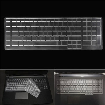 17 Inch Waterproof Clear Keyboard Cover Skin Protective Film for Dell Alienware