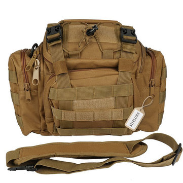 Tactical Bag 3 Ways Utility Carry Bag MOLLE Heavy Duty  Shoulder Strap Hiking Camping Fishing