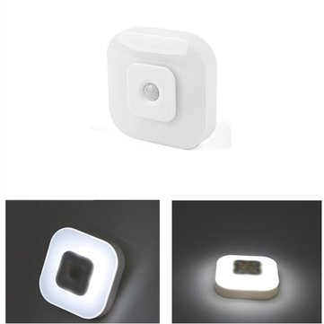 Intelligent 8 LED Night Light PIR Motion Sensor Lamp for Bedroom Bedside Cabinet