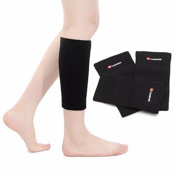 กีฬา Kneepad น่องขาเหยียดยามบีบอัดรัดผ้าพันแผลชินการสนับสนุนการบาดเจ็บที่แขนเจ็บ