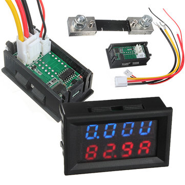 Автозапчасти Digital LED Voltmeter Ammeter Amp