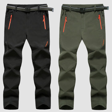 Plus Grootte M-6XL Outdoor Sveent Shell broek sneldrogende Sports Mens winddicht weenterdicht wijnelen Trouse
