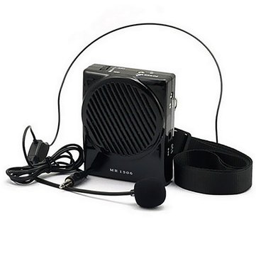 AKER MR1506 Portable Microphone Waistband Voice Booster Amplifier Speaker