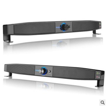 Smalody HiFi Subwoofer Soundbar Multimedia Speaker for Computer Laptop Notebook
