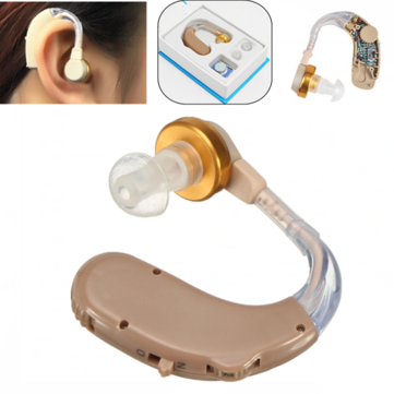 B-13 Adjustable Ear Hearing Aid Behind Sound Voice Amplifier Hear Assistance