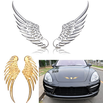 3D Wings Motorcycle Car Personalized Sticker