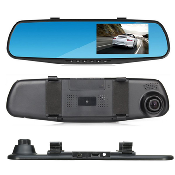 4 3 inch hd 1080p rear view mirror camera back reversing. Black Bedroom Furniture Sets. Home Design Ideas