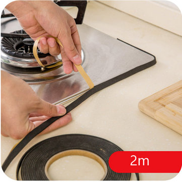 Honana Gas Stove Cooker Slit Antifouling Strip Seal Ring Tape Seal Ring Strip Kitchen Tool