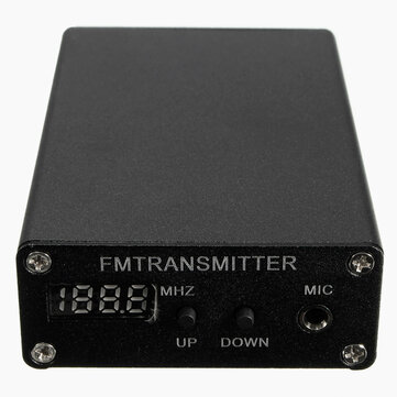 5W Stereo Digital FM Transmitter FM Radio Transmitter Mini FM Radio Station