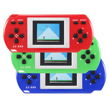 SY-888 288 en 1 écran 1,8 pouces Digital Colorful Handheld Retro Game Console