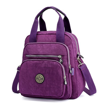 Women Lady Nylon Elegant Stylish Multipurpose Backpack