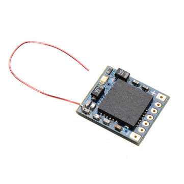 DasMikro DSM2 5CH 2.4Ghz RC Micro Receiver For JR Spektrum transmitter With 6 CH PPM Output