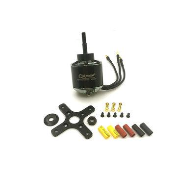 QX-Motor QA4220 580KV 650KV 3-4S Borstelloze Motor Voor FMS Warbird Vrijmaken