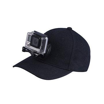 Lona ajustable de béisbol Sombrero Cap Quick Release para Gopro SJCAM Xiaomi Yi Cámara Accesorios