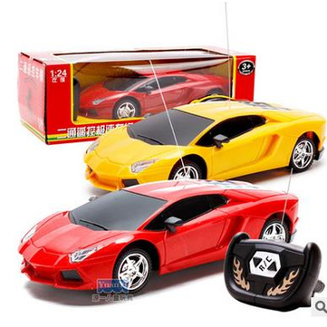 1/24 2 Channel Wireless Remote Control RC Racing Car Truck Kids Toy Gift