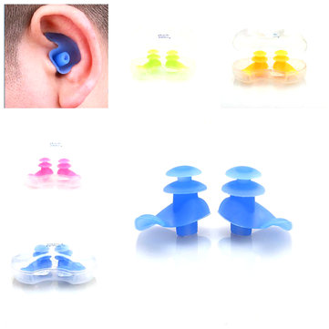 Summer Swimming Earplugs Waterproof Silicone Soft