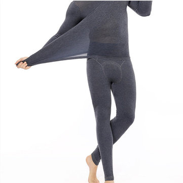 37 Degrees Thermostated Underwear Thermique Ultra-linéaires Non-trace Hommes Perspective Chaude Longs Johns Sexy