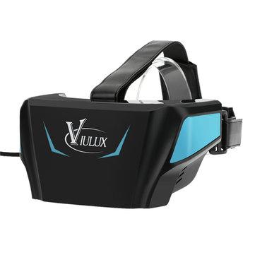 вр коробка реальности 3D очки вр гарнитура игра виртуальный фильм 1080p 5.5 дюйма O LED экран HDMI USB для ПК ноутбук V1 viulux