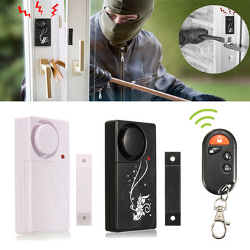 Wireless Security Entry Burglar Alarm System Magnetic Sensor Door Window Home