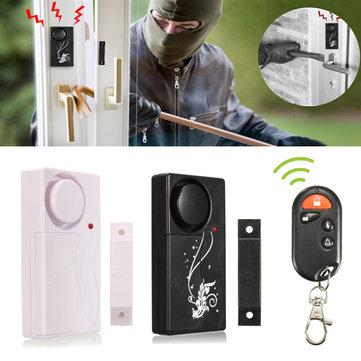 Wireless Security Entry Burglar Alarm System Magnetic Sensor Door Window Home