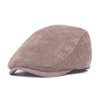 Unisex misto cotone cintura cappello berretto striscia fibbia regolabile carta protezione ragazzo tassista gentiluomo