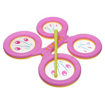 수수께끼 인 아이들 장난감 장난감 드럼 전기 히트 음악 드럼 놀이터 아이들을위한 교육 선물