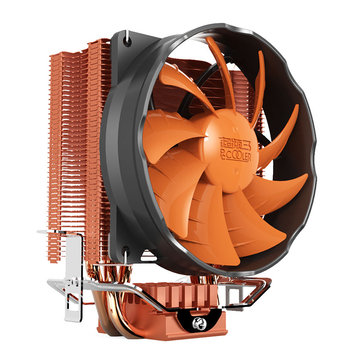 Buy Pccooler S90H 3 Copper Heat Pipes 10cm CPU Cooler Cooling Fans Heat Sink for Intel LGA775/115X AMD for $24.99 in Banggood store