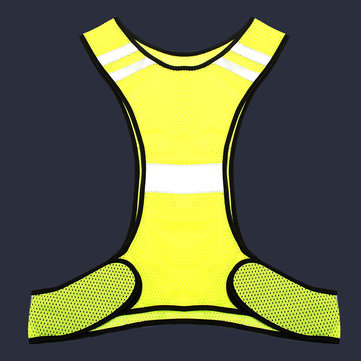 Fluorescent Yellow High Visibility Reflecterende Vest Beveiliging Night Work Equipment