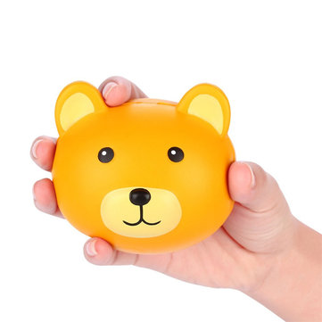 Vlampo Squishy Bear Head 3,9 '' Slow Rising originele verpakking Leuke Kawaii Collection Gift Decor Toy