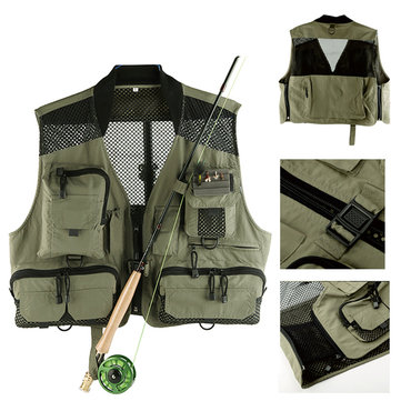 Maxcatch Mesh Fly Fishing Vest Hunting