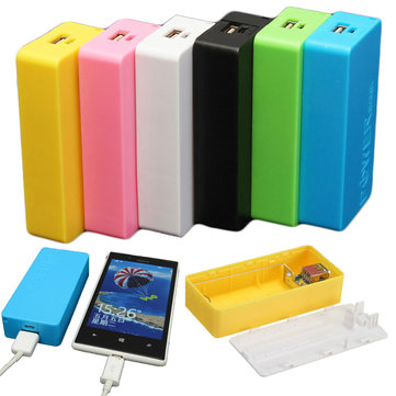 5600mAh 2X 18650 USB Power Bank