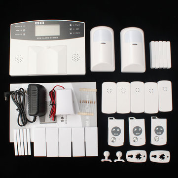 YA-500-GSM-21 LCD Wireless GSM Auto Dial SMS Home House Office Security Burglar Intruder Alarm