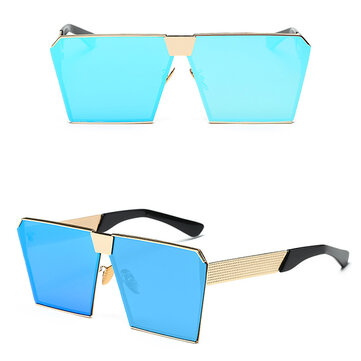 Women Fashion Square Shape Anti-UV Sunglasses Outdoor Casual Eyewear