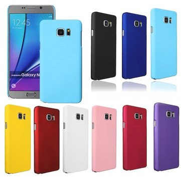Colorful Hard Plastic Frosted Shield Matte Back Cover Case for Samsung Galaxy Note 5