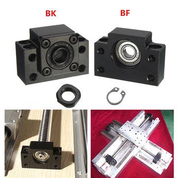 2adet BK12 BF12 Bilya Vida Bilye Uç Desteği Vida SFU1605 CNC Parçalar