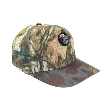 Outdooors Night Fishing Cap Met Koplamp Camouflage Camping Fishing Hunting Headlamp Light Hat