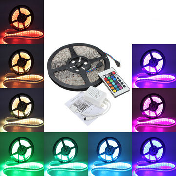 5M 5050 RGB Waterproof 300 LED