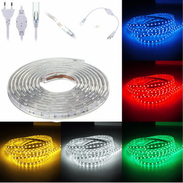 Buy 6M 5050 LED SMD Outdoor Waterproof Flexible Tape Rope Strip Light Xmas 220V for $17.43 in Banggood store