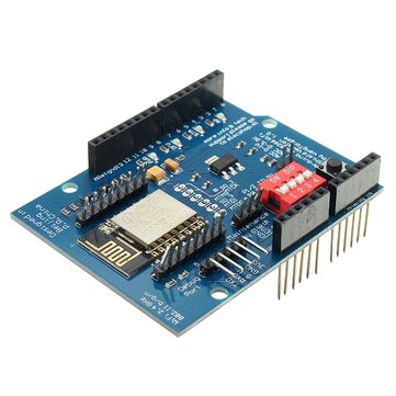 ESP8266 ESP-12E UART WIFI Wireless Shield TTL Converter For Arduino UNO R3 Mega