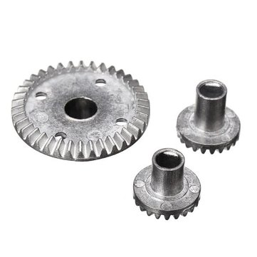 HBX 1/12 12631 Upgraded Metal 38T Differential Bevel Gears Drive Gear Parts