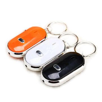 Whistle Key Finder Keychain Sound LED