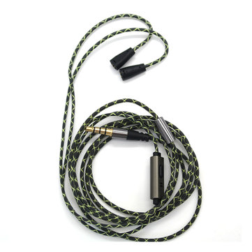 Tingo Upgraded Replacement Audio Cable With Mic For IE80 IE8 IE8I SE353 SE215 W4R TF10 IM50 IM70
