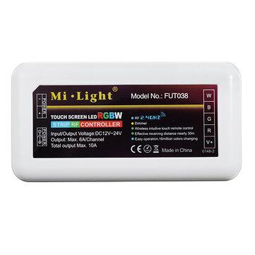Mi luz 24a DC12-24V 2.4g rf 4 canal rgb LED controle remoto