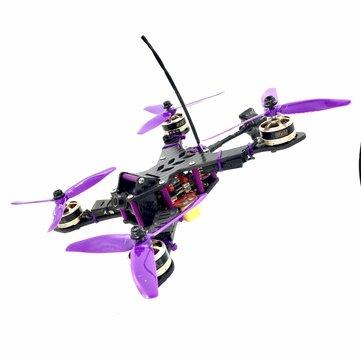 XY215 V2 215MM Split Level Frame Kit DIY Frame Part For FPV Racer
