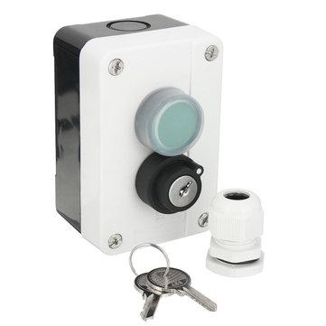 Interruptor a presión impermeable del ABS del cable con las llaves para el abrelatas automático de la puerta