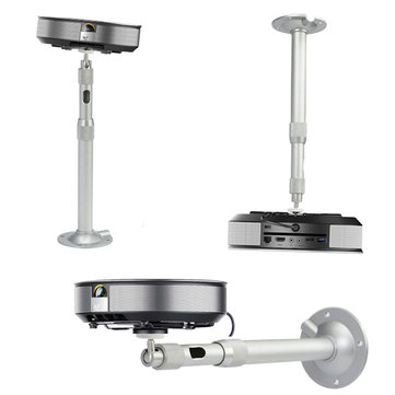 360 Degree 20-40cm Adjustable Extendable Ceiling Mount Bracket For DLP LCD Projector