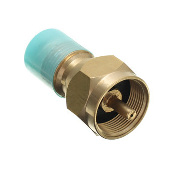 60mm Brass Propaan LP Gasfles Fitting connector Adapter