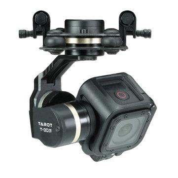 Tarot TL3T02 T-3D IV 3 ejes Sin escobillas Gimbal para Gopro Hero 4 SESSION Cámara para RC Drone FPV Racing